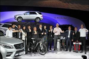 全新奔驰ML正式上市 售价89.8-99.8万元
