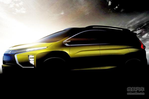 小型跨界MPV 三菱全新概念车预告图曝光