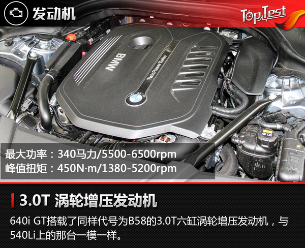 宝马 6系GT 实拍 图解 图片