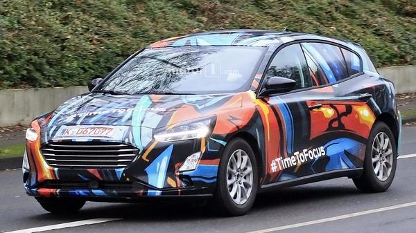 配48V轻混动 福特全新福克斯RS或2020年亮相