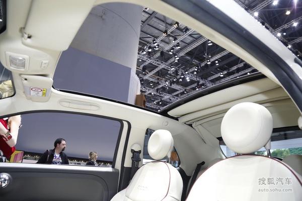 菲亚特500 日内瓦车展实拍