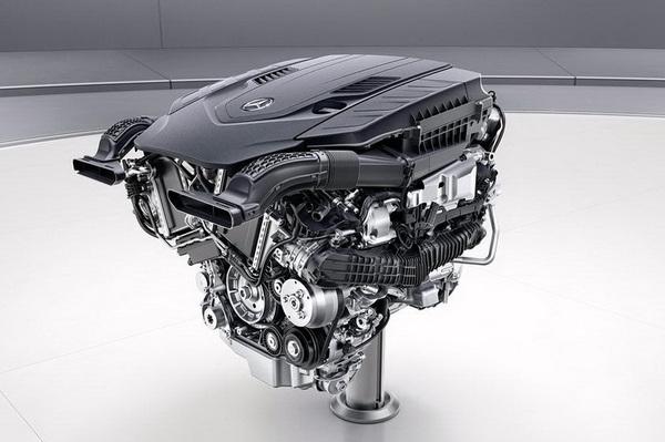 【奔驰全新V8发动机】-换装全新动力总成 奔驰新款S级轿跑谍照