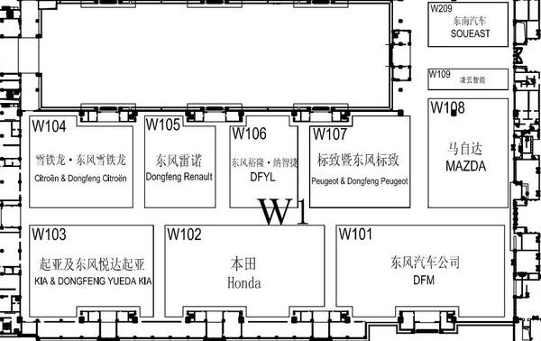 科普贴 北京车展重磅新车都在哪些展馆?