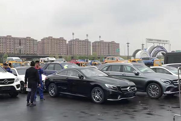 2017上海车展探营:全新奔驰E级Coupe