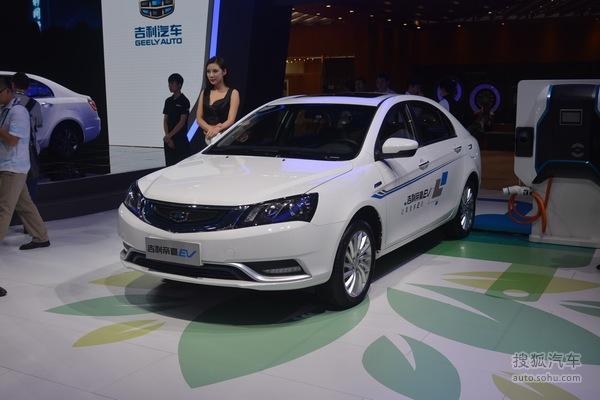 续航增至300km 吉利新款帝豪EV 3月上市