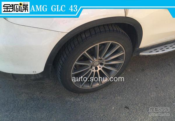 梅赛德斯-AMG GLC 43谍照曝光