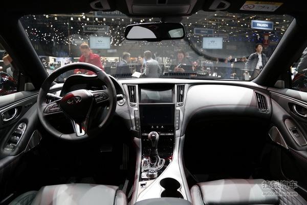 英菲尼迪Q50 日内瓦车展实拍