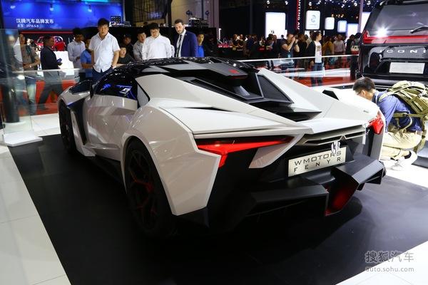 Lykan Fenyr SuperSport上海车展实拍