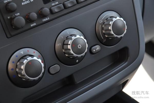 东南得利卡的空调控制面板