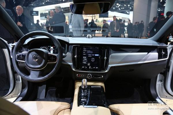 沃尔沃S90 北美车展实拍