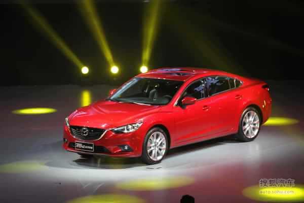 一汽马自达Mazda6 Atenza阿特兹上市活动现场