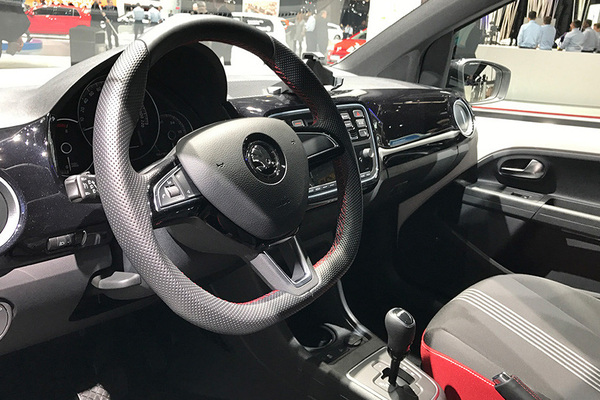 2017日内瓦车展:斯柯达新款Citigo发布