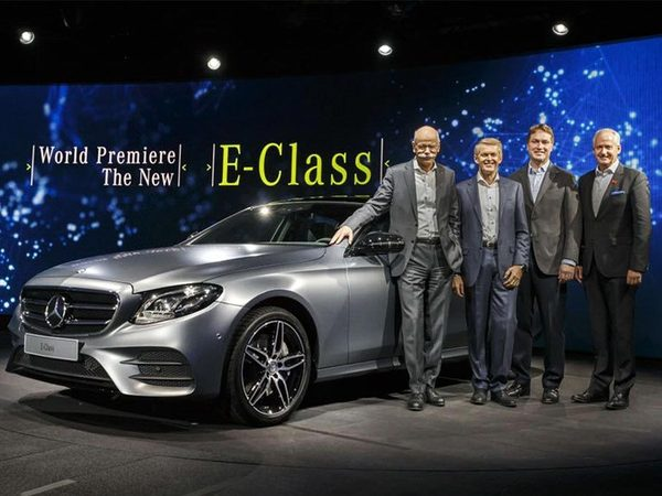 全新一代奔驰e级首发 上半年正式国产
