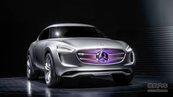 奔驰G-Code概念车发布 展示未来设计理念