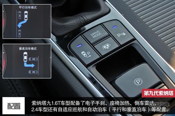现代车内功能按键图解
