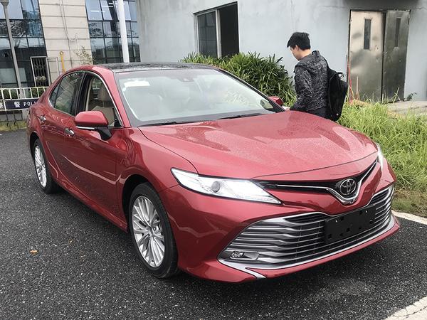 2017广州车展探营:广汽丰田全新凯美瑞亮相