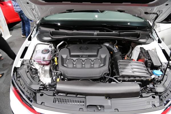 大众Polo GTI 法兰克福车展实拍