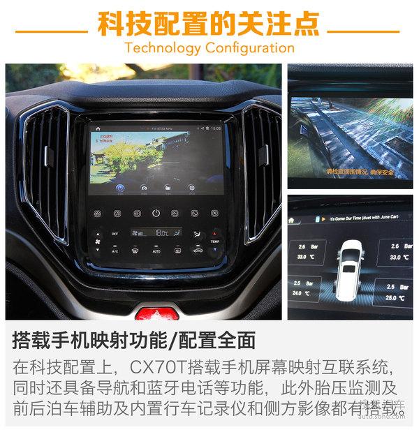 长安商用 CX70 实拍 图解 图片