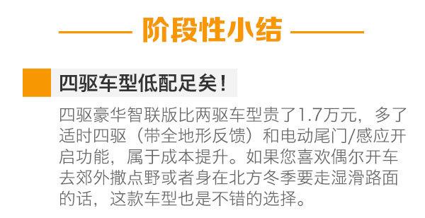 首推两驱豪华智联版 广汽传祺GS8购车手册