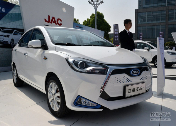 江淮iEV7或将3月上市 补贴后预计售价9万