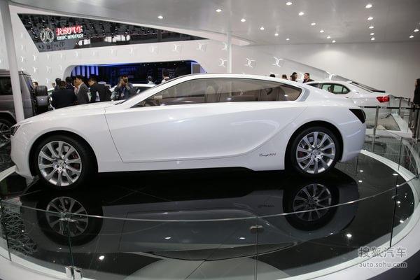 北汽Concept 900车展再亮相 轴距3100mm高清图片
