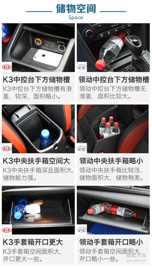 起亚 K3 实拍 图解 图片