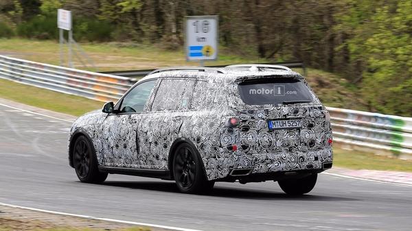 宝马X7车型谍照曝光 或将2018年发布