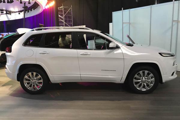 2017上海车展探营:2017款Jeep自由光