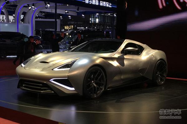 上海车展:Vulcano Titanium售6680万元