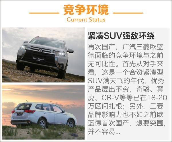 推荐2.4L精英版 广汽三菱欧蓝德购车手册