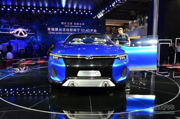 瑞虎5轿跑SUV 上海车展实拍