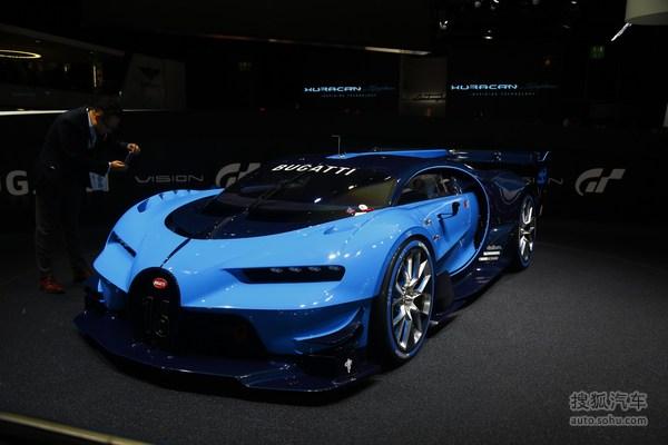 布加迪Vision GT法兰克福车展实拍