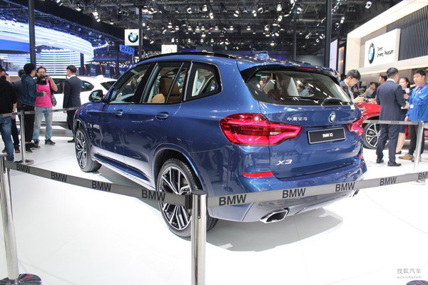 2018北京车展:国产全新X3售价39.98万起