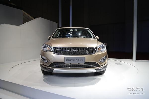 上海车展 众泰全新SUV大迈X5发布高清图片