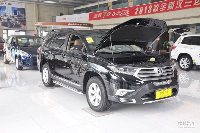 丰田汉兰达 2013款2.7l 两驱紫金版 5座 底高清图片