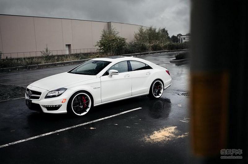 奔驰amg系列cls级 amg白色幽灵 sr auto改装新款奔驰cls63高清图片