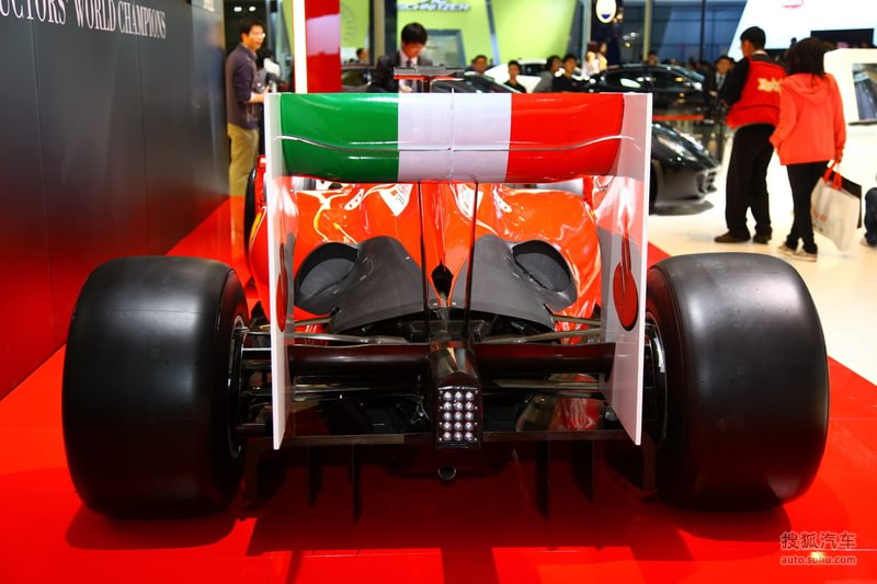 法拉利/法拉利F1赛车 上海车展实拍提示:支持键盘翻页←左右→速度:...
