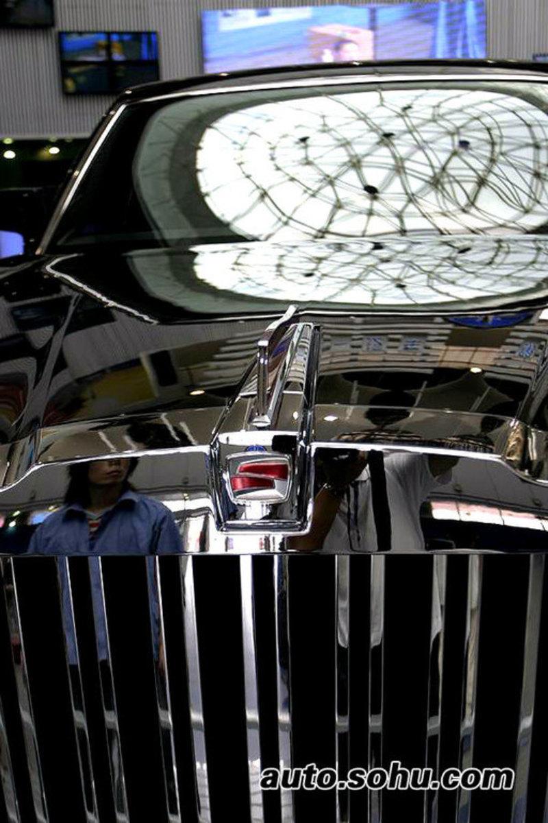 2005款红旗HQE概念车高清图片
