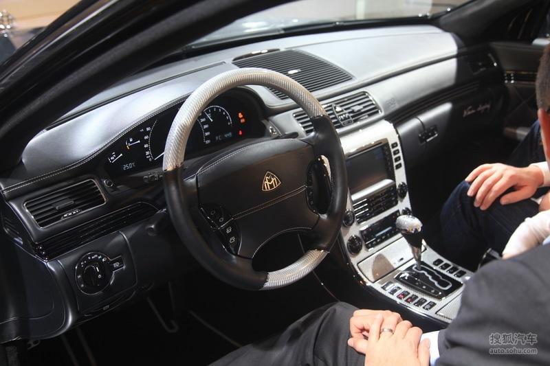 迈巴赫迈巴赫57迈巴赫57 S法兰克福车展实拍