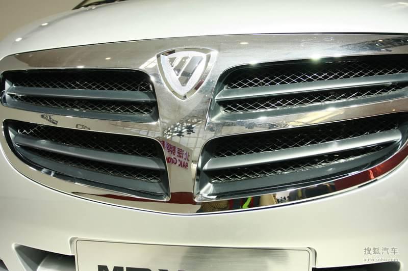 福田福田汽车蒙派克e福田蒙派克车展实拍 高清图片
