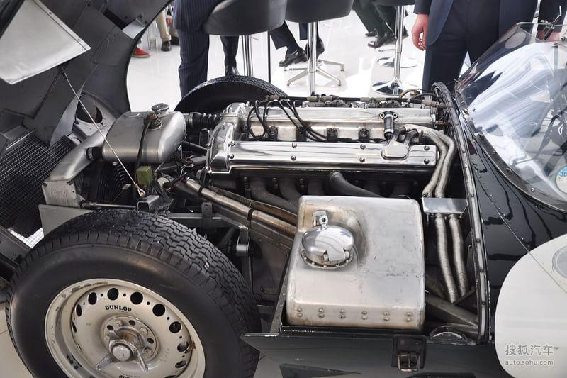 捷豹捷豹汽车d type1954款捷豹d type到店实拍