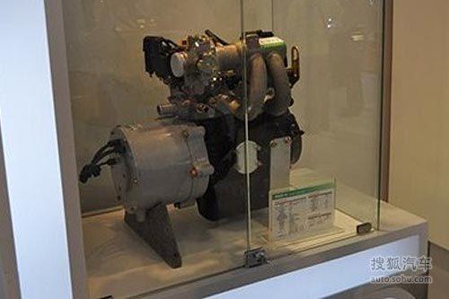 奇瑞增程式电动车S18D 瑞麒X1高清图片