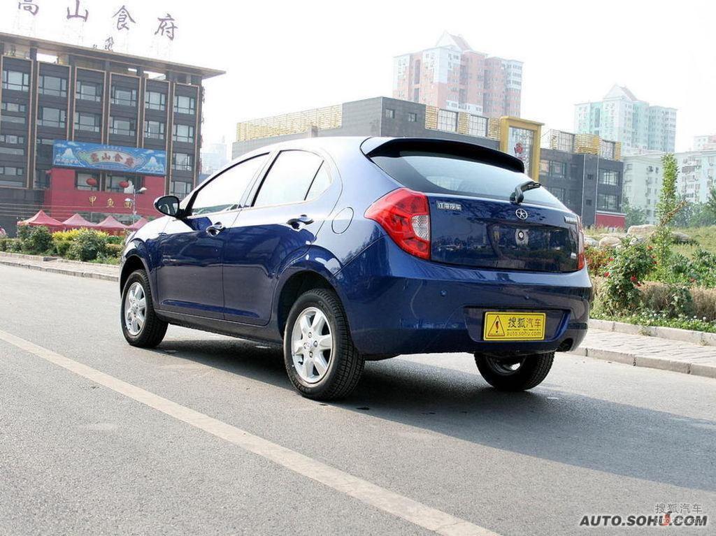 江淮同悦RS2008款1.3L 豪华型外观中国蓝t272145图片高清图片