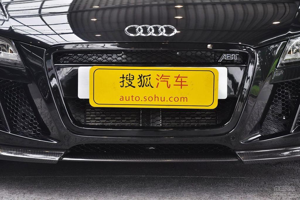 奥迪r82010款5.2fsi quattro改装幻影黑t1592949高清图片 图库高清图片
