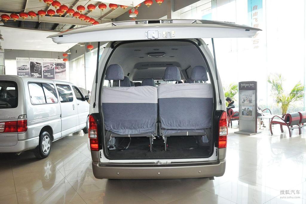金杯大海狮2012款2.4l 汽油版 w豪华型底盘/动力t高清