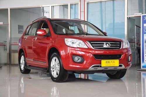 2012款长城哈弗H6 2.0L手动中国红版