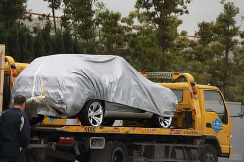 一汽奔腾SUV概念车 2011上海车展探营实拍