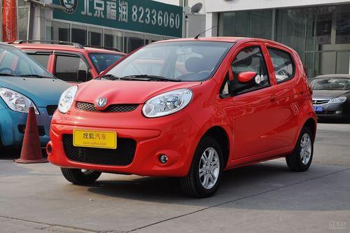 2012款长安奔奔mini 1.0l手动舒适型高清图片