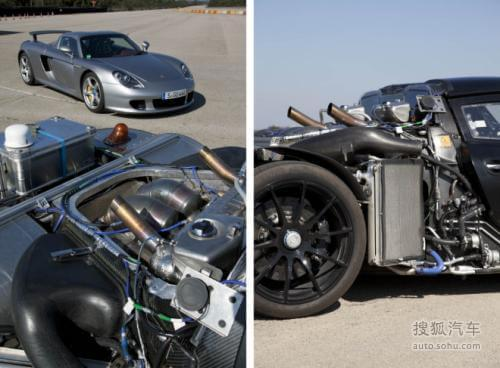 保时捷918 Spyder路试 百公里加速仅3秒