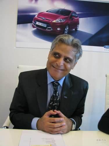 福特汽车亚太及非洲地区产品开发副总裁葛皓华